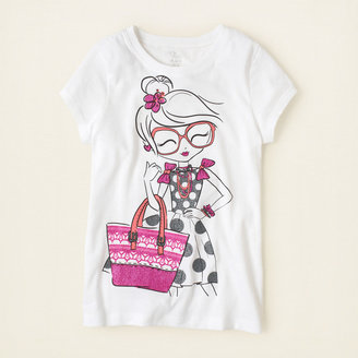 Children's Place Fab girl graphic tee