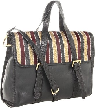Foley + Corinna Channel Satchel (Multi Black Combo) - Bags and Luggage