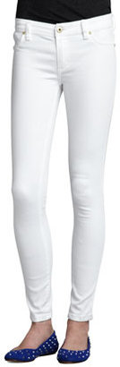 Blank Spray-On Skinny Jeans, White