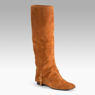Delman Tall Suede Riding Boots