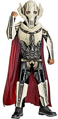 Star Wars Asstd National Brand General Grievous Deluxe Child Costume