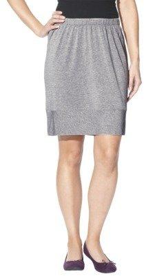 Merona Women's Elastic Waist Mini Skirt - Assorted Colors