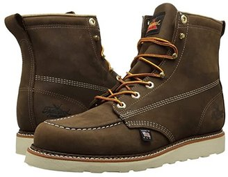 Thorogood 6 Moc Toe (Brown Crazyhorse) Men's Work Boots