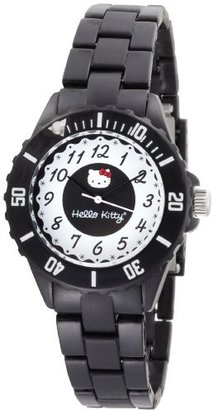 Hello Kitty Women's H3WL1004BK Black Dial Watch $55 thestylecure.com