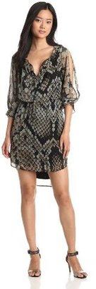 Jessica Simpson Women's Long Sleeve Blousant Dress