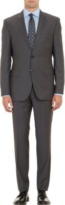 HUGO BOSS Pinstripe Two-Button Suit