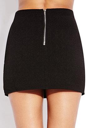 Forever 21 Touch-of-Glam Mini Skirt