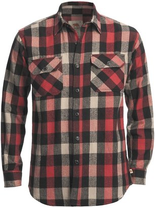 Dakota Grizzly Woodsman Brawny Flannel Shirt (For Men)
