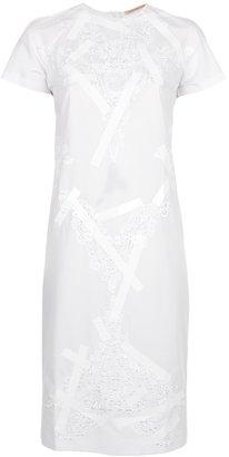 Christopher Kane lace appliqué shift dress