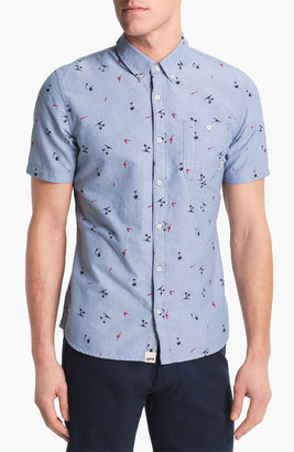 Vans 'Rusden' Palm Print Woven Shirt