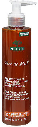 Nuxe Reve de Miel Face Cleansing and Make-up removing Gel 6.7 oz (198 ml)