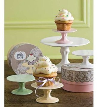 Rosanna 4-in. Petite Treat Cupcake Stand, Pink