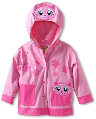 Western Chief Pink Kitty Raincoat (Toddler/Little Kids) 5 5 2 Reviews