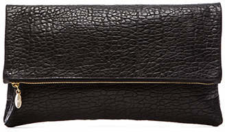 Clare V. Foldover Clutch in Black. $235 thestylecure.com