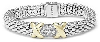 Women's Lagos 'Diamond Lux' Diamond Rope Bracelet $3,000 thestylecure.com