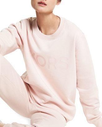 MICHAEL Michael Kors Heather Kors Logo Sweatshirt