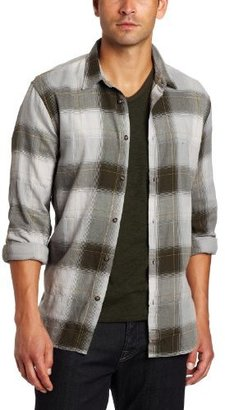 7 For All Mankind Men's Big Plaid Shirt