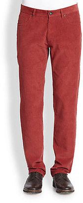 Saks Fifth Avenue Collection Modern-Fit Corduroy Cotton Pants