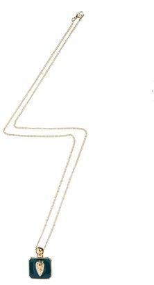 Asos Leaf Pendant Necklace