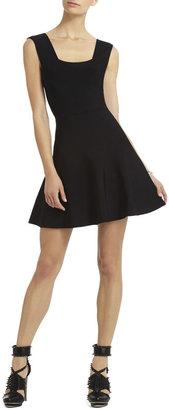 BCBGMAXAZRIA Izella Back-Strapped Dress
