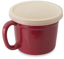 Berghoff Geminis 6-Inch Covered Cups - Set of 2