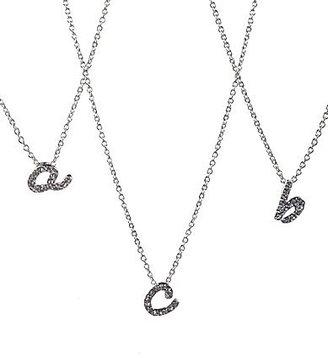 Nadri Initial Charm Pendant Necklace
