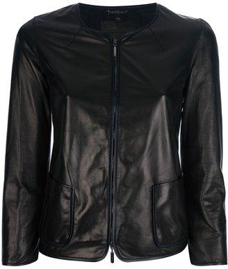 Giorgio Armani lambskin jacket
