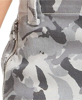 DKNY Jeans, Skinny-Leg Camouflage-Print Cargo
