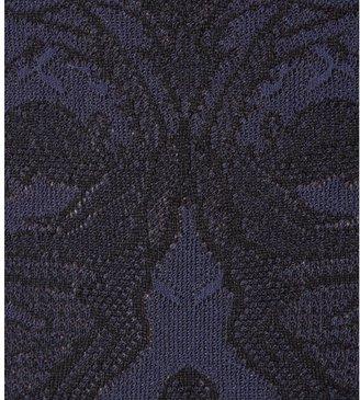 Alexander McQueen Intarsia silk-blend dress