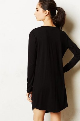 Anthropologie Dipped Jersey Tunic