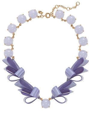 J.Crew Ribbon necklace