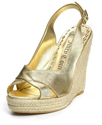"""Juicy Couture Kross"""" Espadrille Wedges"""