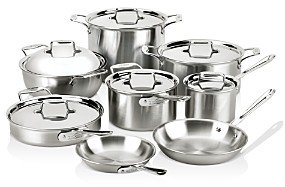 All-Clad d5 Stainless Brushed 14-Piece Cookware Set