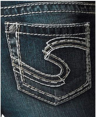 Silver Jeans Suki Bootcut Jeans, Dark Wash