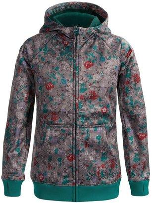 Burton Scoop Fleece Hoodie Sweatshirt - Full Zip (For Girls)