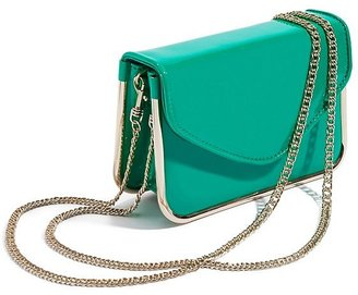 GUESS by Marciano Madeline Patent Flap Bag