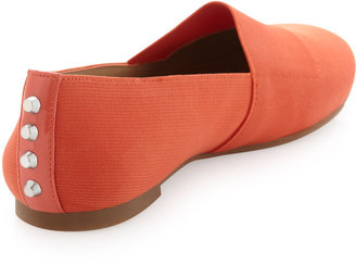 Jay Litvack St. Lucia Studded Back Slip-On, Orange