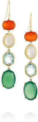 Ippolita Gelato 18-karat gold multi-stone earrings