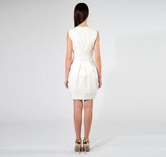 Vera Wang Tulip Dress