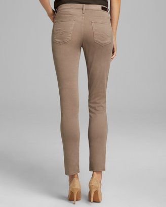 AG Adriano Goldschmied Jeans - Exclusive Prima Skinny in Taupe
