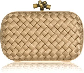 Bottega Veneta Satin box clutch