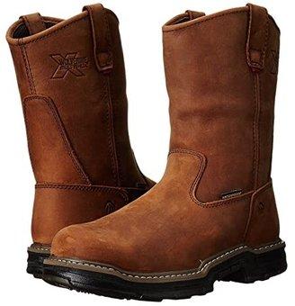 Wolverine Marauder Multishox(r) Waterproof Steel Toe (Brown) Men's Work Boots