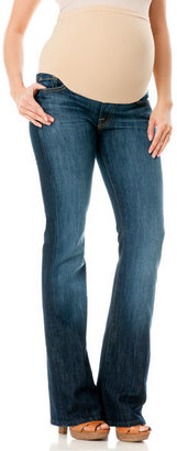 A Pea in the Pod 7 For Mankind Petite Secret Fit Belly Boot Cut Maternity Jeans