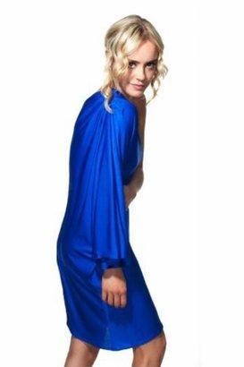 Naven Goddess Dress in Vegas Blue $269 thestylecure.com