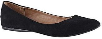 Call it SPRING Call It SpringTM Janille Faux-Suede Ballet Flats