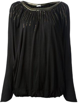 Tsumori Chisato embellished pleated blouse