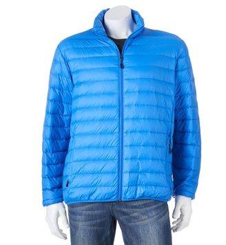 Hemisphere Men's Light Down Packable Puffer Jacket