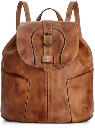 Patricia Nash Handbag, Leather Rub Vasto Backpack
