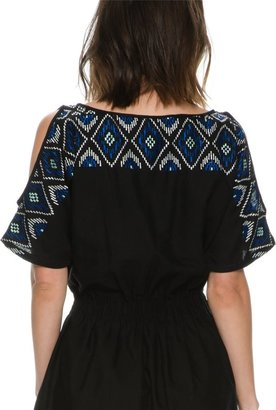 Angie Kaia Embroidered Dress