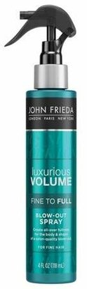 John Frieda Luxurious Volume Fine to Full Blow Out Spray - 4oz